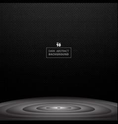 abstract black screen of metallic pattern vector image