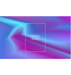 blurred vibrant background gradient cover design vector image