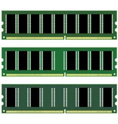 Dimm memory vector