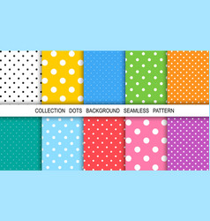 dots abstract background template background dots vector image