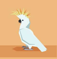 Flat design kockatoo vector