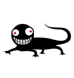 Funny reptile vector