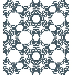 geometric abstract monochrome mosaic seamless vector image