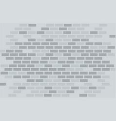 Gray brick wall vector