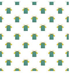 Hanging t shirt pattern seamless vector