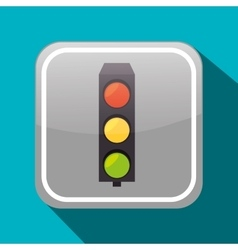 Road sign icon graphic vector