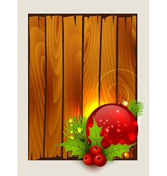 stylish merry christmas background vector image