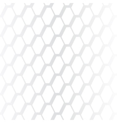 Subtle geometrical white seamless pattern vector image vector image