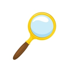 Loupe vector image