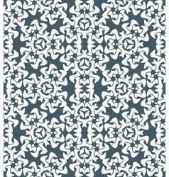 Abstract decorative floral monochrome seamless vector