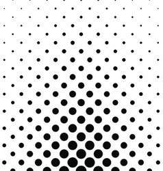 Abstract monochrome dot pattern vector image