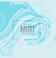 Blue abstract marble texture background vector