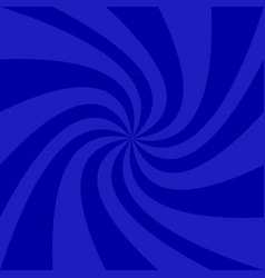 blue geometrical spiral background - graphic vector image