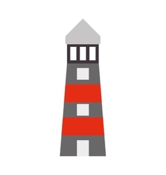 lighthouse building construction design vector image