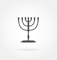 Menorah Religion icon vector image