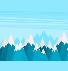 mountains success goal achievement business vector image