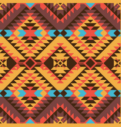 Navajo style pattern vector