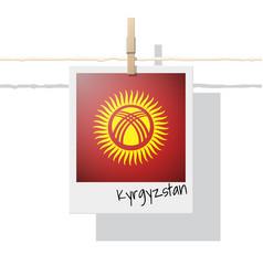 Photo of kyrgyzstan flag vector