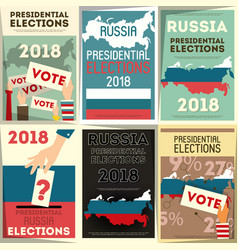 Russia presidential election vector