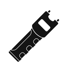 Taser self defense weapon vector image