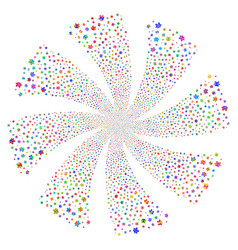 Users fireworks swirl rotation vector