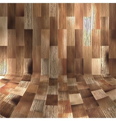 Wood panels used as background EPS 10 vector image