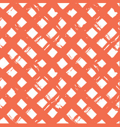Abstract hand drawn paint crossed lines seamless vector