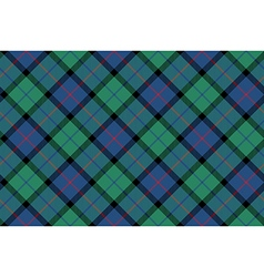 flower of scotland tartan fabric texture seamless vector image vector image