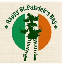 Saint Patricks Day Party Design vector image