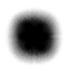 Abstract halftone circles dot template eps 10 vector