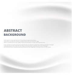 abstract of white paper with crease and rumple vector image