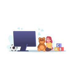 Bacharacter listen virtual sitter online vector