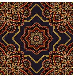 Dark pattern of mandalas vector