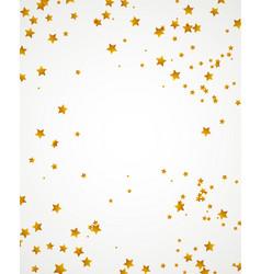 Gold stars bakground vector
