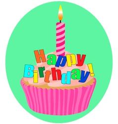 Happy birthday 3 vector image