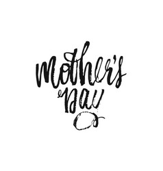 Happy mother s day design background lettering vector