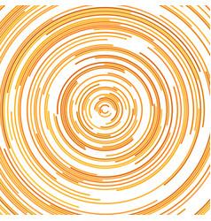 Hypnotic abstract half circle background vector