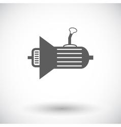 Icon gear vector image