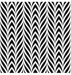 seamless decorative pattern curve striped vector image