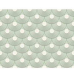 Seamless pattern for background of round vector