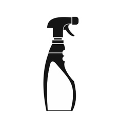 Sprayer bottle icon simple style vector