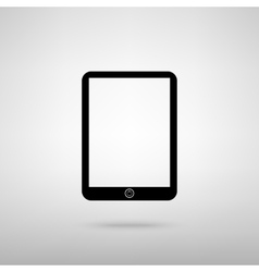 Computer tablet sign vector image vector image