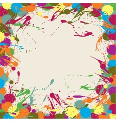 Abstract artistic background blots vector