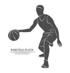 Basketball Player athlete vector