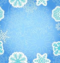Blue christmas greeting background vector