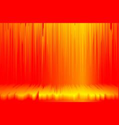 Hot wave orange red lush lava color vector