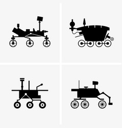 Planetary rovers vector