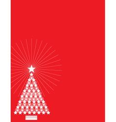 star tree vector image