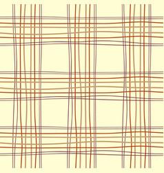 tartan table endless vector image