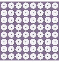 White flowers on grey background vector